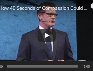 How 40 Seconds of Compassion Could Save a Life